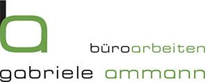 büroarbeiten gabriele ammann Logo